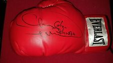 """Light Heavyweight Champ"" Glengoffe Johnson Signed Boxing Glove Sig Auctions"