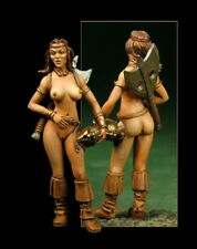 Barbarian Warrior 1:43 Figurine Little Dragonettes New Pin up Figures Metal LD33