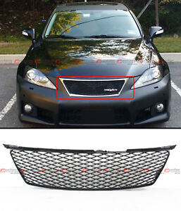 FOR 06-08 LEXUS IS250 IS350 ISF F SPORT STYLE HONEYCOMB MESH FRONT BUMPER GRILLE