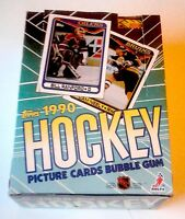 1990 TOPPS HOCKEY WAX BOX UNOPENED 36 PACKS / GREAT SUPERSTAR ROOKIE LINE UP