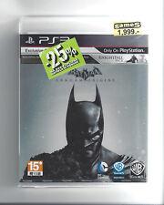 BATMAN ARKHAM ORIGINS for Playstation 3 PS3 - NEW in seal - Region 3
