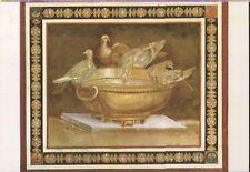 Arte antiguo tarjeta postal-roma-Musei Capitolini-mosaico delle Colombe