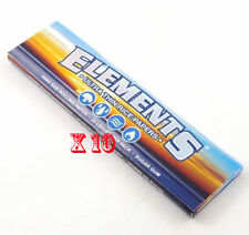 ELEMENTS PREMIUM KING SIZE SLIM X10 SMOKING CIGARETTE ROLLING PAPERS