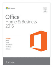 Key für Microsoft Office Home and Business 2016 for Mac Vollversion Deutsch