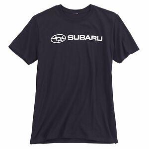 Subaru Basic Tee Shirt Impreza Sti T shirt Official Genuine WRX NEW OEM Racing