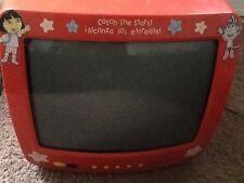"""Emerson Dora The Explorer  13"""" Tv Red Dte315 no remote"""