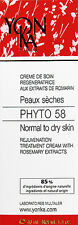 Yonka Phyto 58 PS Cream Dry/Sensitive Skin 1.4oz Brand New