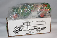 JE Scale Models, Musgo Fuel Truck, Ertl Toy Bank,  Boxed