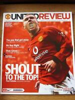 11/01/2004 Manchester United v Newcastle United   (Item has no apparent faults).