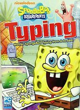 Spongebob Typing PC Games Windows 10 8 7 XP Computer sponge bob kid teaches