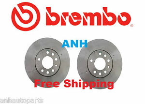 Set of 2  Brembo 25519 Front Disc Brake Rotor (Pair)Rotors are 288mm Diameter