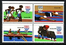 Sc 1791-1794 Summer Olympic Games Mnh Block of 4