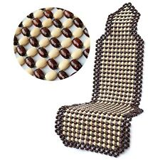 Wooden Bead Car Seat Cover Massager From Natural Wood Beads Universal Fit