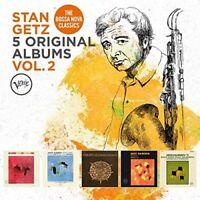 Stan Getz - 5 Original Albums, Vol. 2 [CD]