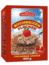 Buchweizen flocken Buchweizenflocken 400g Dovgan гречневые хлопья