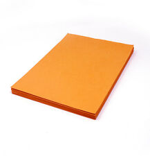 A4 Lokta Computer Paper Naturally Dyed eco paper - Orange - 20 Sheets