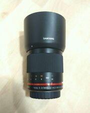 SAMYANG 300MM F6.3 ED UMC CS MFT MIRROR micro 4/3 Olympus Panasonic