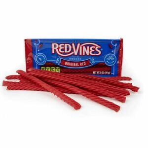 Red Vines Original Red Twists 141g Full case of 12