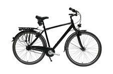 """28"""" Herren Alu City Fahrrad 7 Gang Nexus Federgabel Nabendynamo schwarz"""