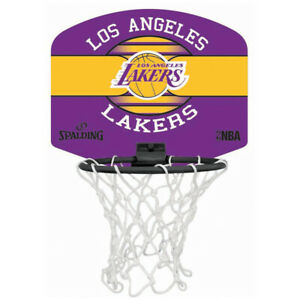 Spalding NBA Equipes Basketball Panier Miniboard - Lakers, bulls ,Celtics,