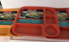 Nordic Ware Party Trays, Assorted Colors, Set of 3