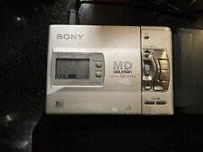 Sony Mz-R50 Md Walkman Minidisc Player Silver
