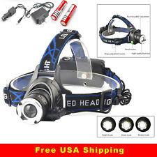 EZ HL 1200 CREE XML T6 LED Tactical Headlamp Torch Flashlight HL1200 1tac Style