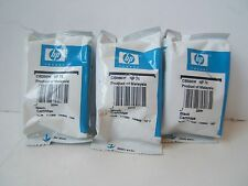 3 Genuine OEM HP 74 Black Ink Cartridges New Sealed Expired