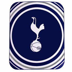Giant Tottenham Hotspur Football Crest Fleece Blanket/Sofa Throw (125cm x 150cm)