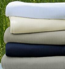 Sferra Grant All Season Lightweight Cotton Blanket In Stripes From Portugal