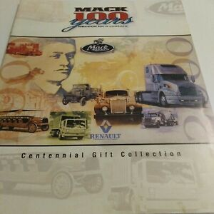 Mack Trucks Employee's Centennial Gift Collection Flyer (2000)