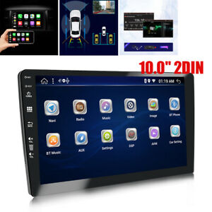 "10.0"" 2DIN Android9.1 Bluetooth Wifi Car Stereo Audio MP5 Player 2GB+32GB USB"