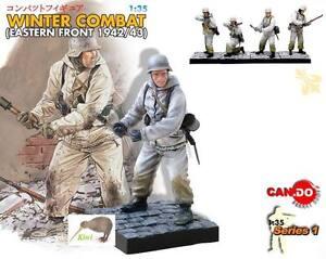 Dragon #5 WW2 Winter German Grenade Soldier 1:35 model CD_5