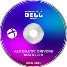 DELL All Models PC, Laptop & Desktop Automatic Windows Drivers Installer CD