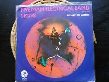 SINGLE FIVE MAN ELECTRICAL BAND - SIGNS - MGM SPAIN 1971 VG+
