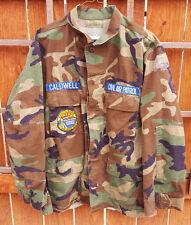 Dakota Ridge Civil Air Patrol-Military Coat-Caldwell-Woodland Como-Green-Patches