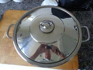 Stainless Steel Pan/Pot Cassarole  28cms x 9cms