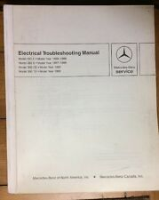 MERCEDES BENZ ELECTRICAL TROUBLESHOOTING MANUAL MODEL 300 E, 260 E, 300 CE, TE