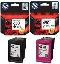 HP 650 Black and color Original Deskjet Cartridge CZ101AE HP4645 3545 1515 2645