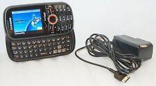 Samsung SCH-U450 Intensity PRE-PAID Verizon BLACK Cell Phone 1.3MP Camera Slider