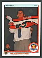 1990-91 Upper Deck #355 Mike Ricci ROOKIE Flyers RC