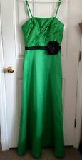 Beautiful Da Vinci Formal/Formal Dress size 10 Green Pleated Bodice~ LQQK!!