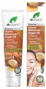 Dr Organic Organic Moroccan Argan Creamy Face Wash 150ml