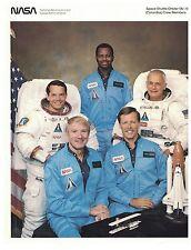 NASA - Space Shuttle Orbiter Columbia Crew Members.  #02 NASASSCCM