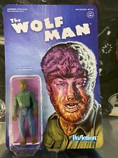 Universal Monsters The Wolf Man Super7 ReAction Figure Lon Chaney Jr
