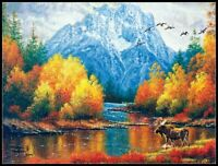 Moran Reflections - Chart Counted Cross Stitch Pattern Needlework Xstitch Craft