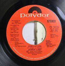 Pop Promo Nm! 45 James Last - Jubilation (Stereo) / Jubilation (Mono) On Polydor