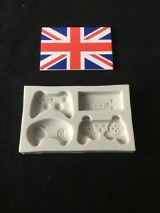Brand New Game Controller Mould Xbox PS4 Cake Decorating Uk Fast