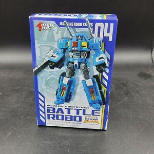 Action Toys Machine Robo Revenge Of Cronos Battle Robo Gobots 04 Tank Figure