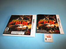 Need for Speed: The Run (Nintendo 3DS) XL 2DS Game w/Case & Manual